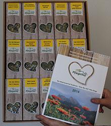 Geschenkkarton mit 15 Kräuterteemischungen