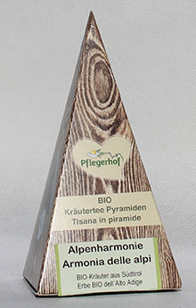 Alpenharmonie (3 fruchtige biologisch abbaubare Kräuterpyramiden)