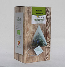 Kamille (20 Pyramidenbeutel biologisch abbaubar)