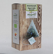 Flavour of the dolomites/Dolomitenduft (20 teabags biodegradable)