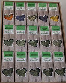 Geschenkkarton mit 15 Einzelkräutern