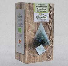 Alpine herbal tea (20 teabags biodegradable)